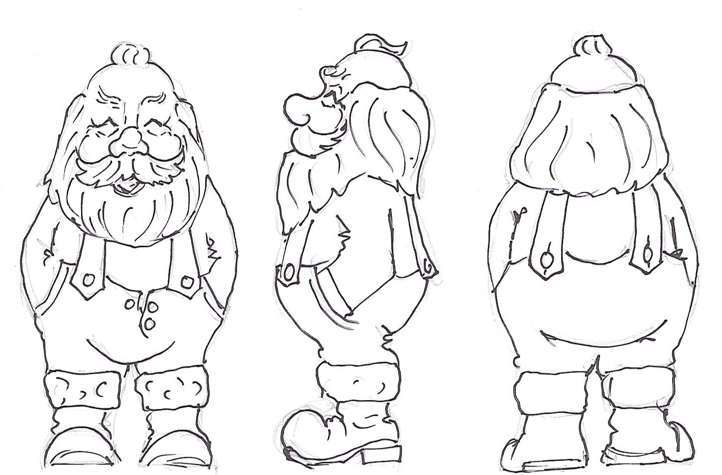 Santa Wood Carving Patterns Free